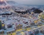 North Korea unveils town