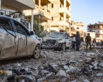 Syria war: Strikes on