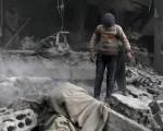Syria war: Air strike