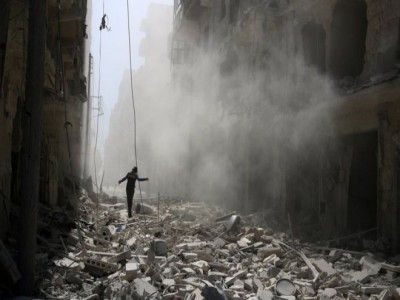 Syria conflict: US and UK speeches 'unacceptable' - Russia