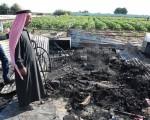 Jordan farm fire:
