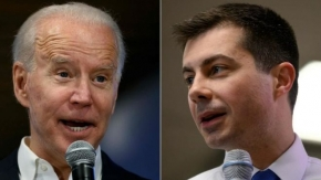 US 2020: Buttigieg responds to Biden advert