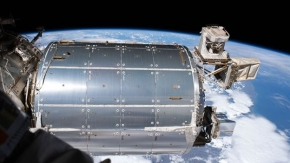 British radio antenna arrives at space station