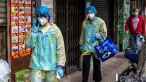 Stock markets tumble amid coronavirus fears