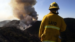 Getty Fire: Southern California gets red-flag warning