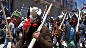 Bolivia crisis: New elections proposed as violence rages