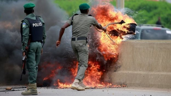South Africa closes embassy in Nigeria after xenophobic violence