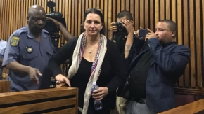 Vicky Momberg: South African estate agent jailed for racist abuse