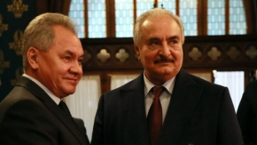 Libya conflict: Haftar 'leaves' Moscow ceasefire talks without deal
