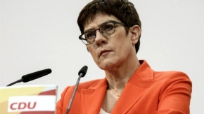Annegret Kramp-Karrenbauer: Favourite to replace Merkel stands down