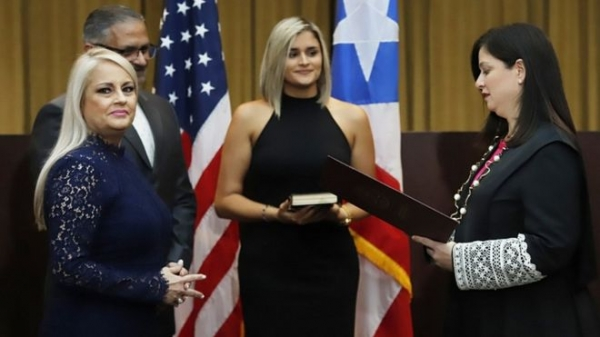 Puerto Rico swears in Wanda Vázquez as new governor