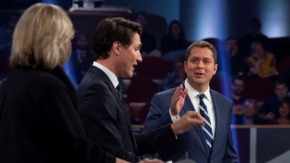 Canada election: Key moments from the leaders' debate