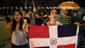 Dominican Republic poll halted after electronic glitch