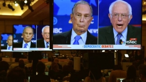Democratic debate: Bloomberg rivals line up to attack billionaire