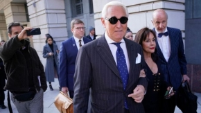Roger Stone: 'Disgusted' judge jails Trump ally